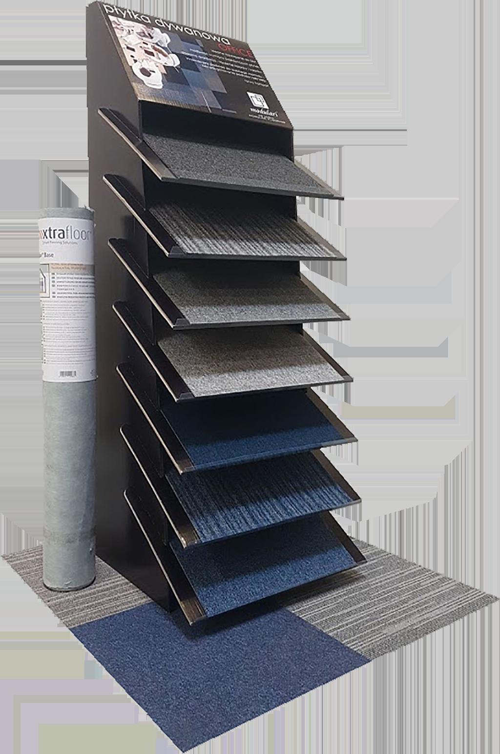modulari® - nowy wymiar ekspozycji płytek dywanowych