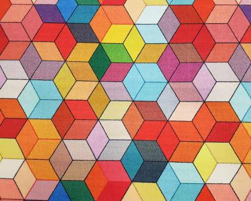 Wykładziny dziecięce HEXAGON FILC 1/10 multicolor